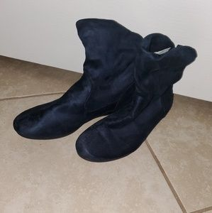NEW! Navy Blue Joe Boxer Ankle Boots, Size 8